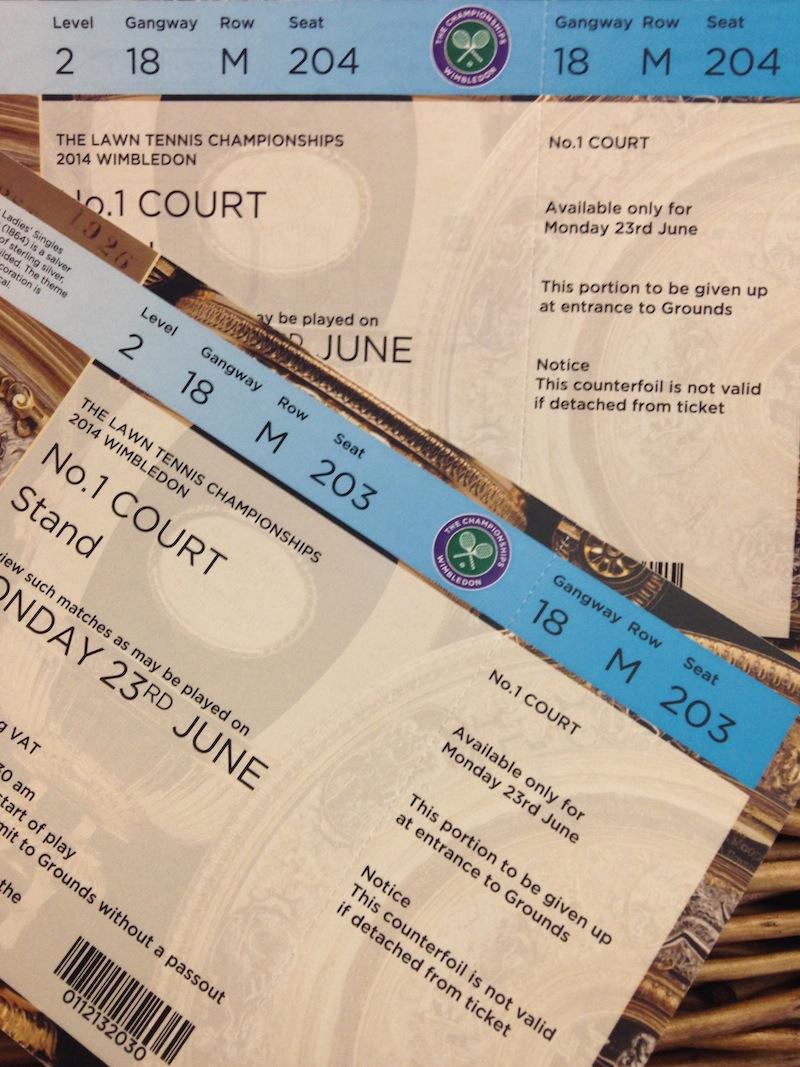 Entradas Wimbledon