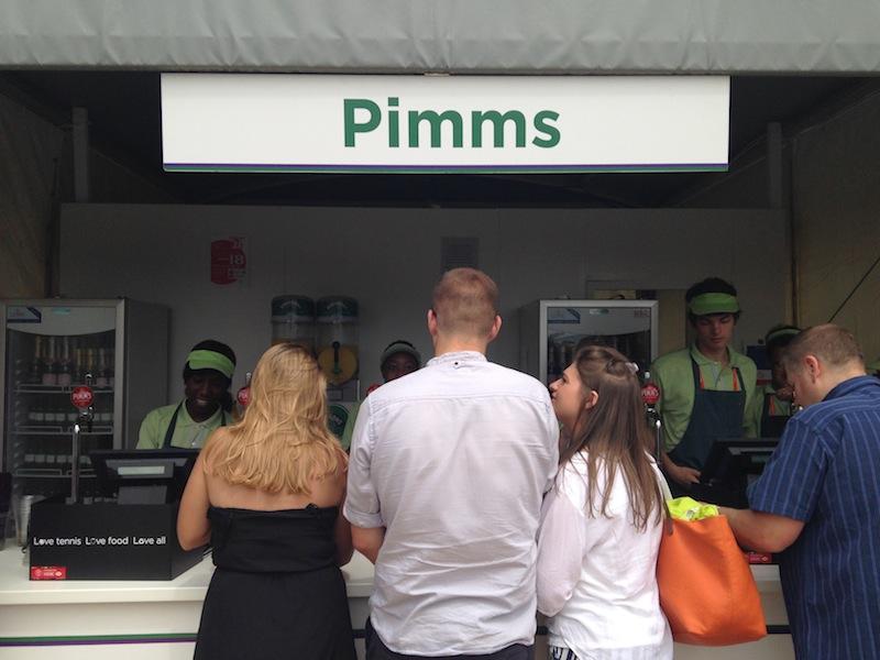 Puesto de Pimm's