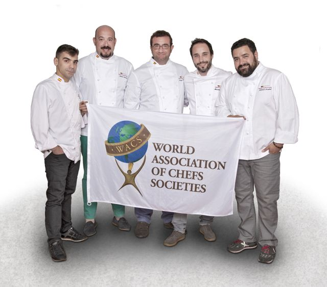 Mundial WACS seleción nacional cocina. Blog Esteban Capdevila