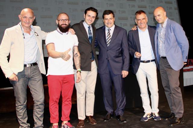 el equipo de atrio, pitu roca y Esteban Capdevila SEXTA COPA JEREZ - 1