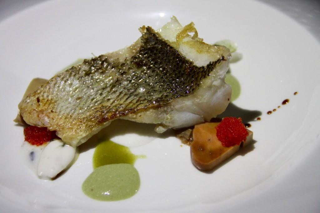 pescado con almendras - 1