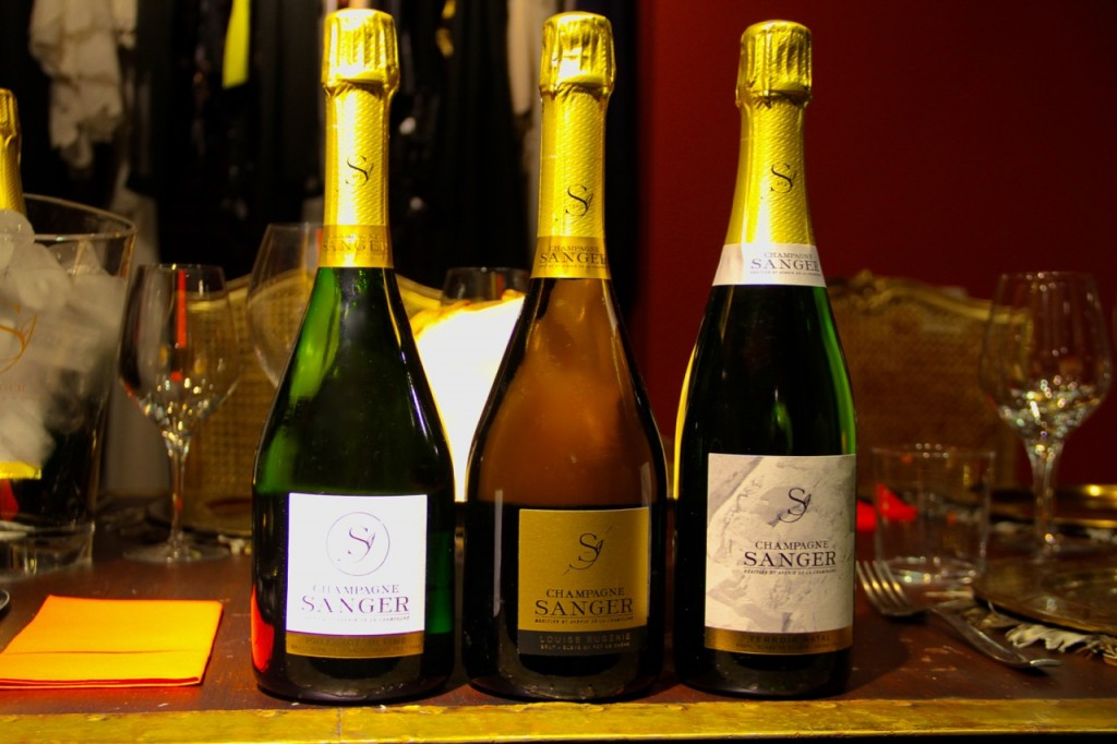 CHAMPAGNES SANGER TRES SUMILLERES - 1