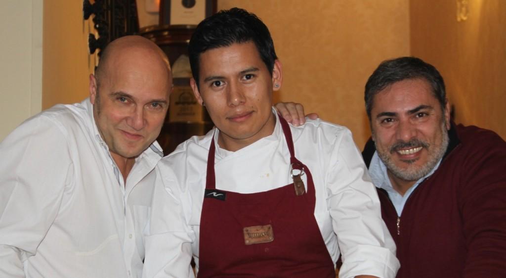 el chef jaime gonzález, su equipo de cocina y el deñ hotel orfila - 10