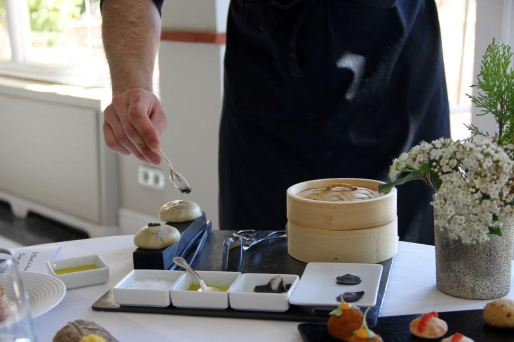 montaje en sala del pan japonés - 1