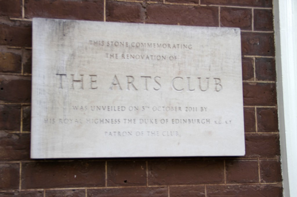the ARTS CLUB - 1