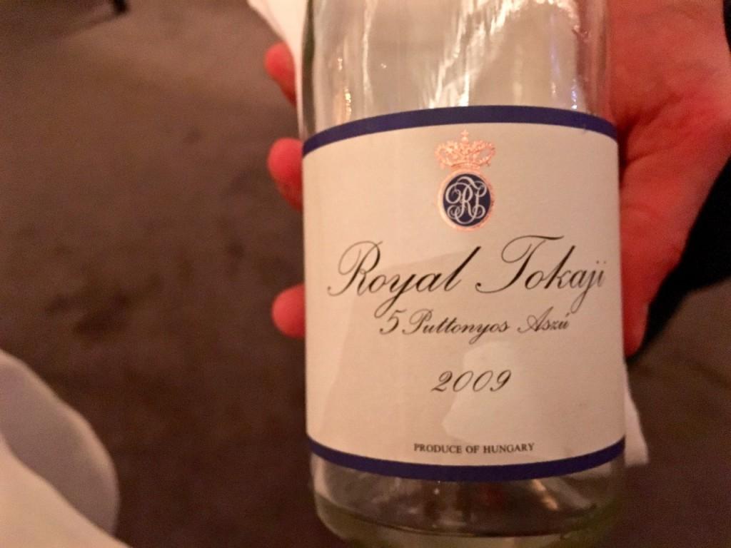royal tokaji 2009 - 1